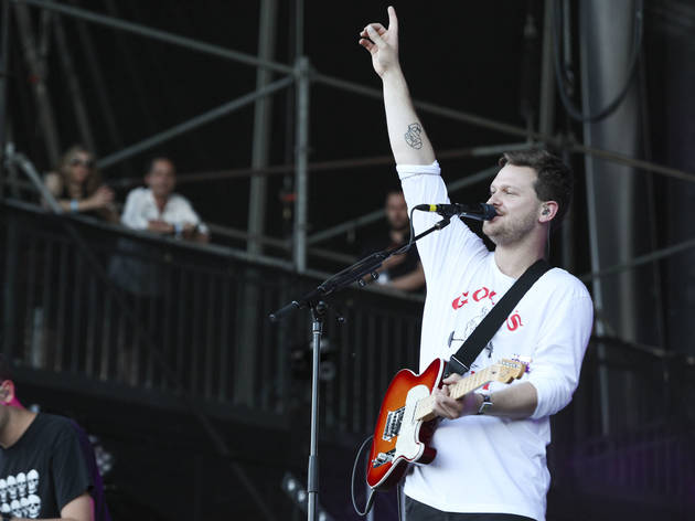 Alt-J played to an enthusiastic audience during the first day of Lollapalooza on July 31, 2015.