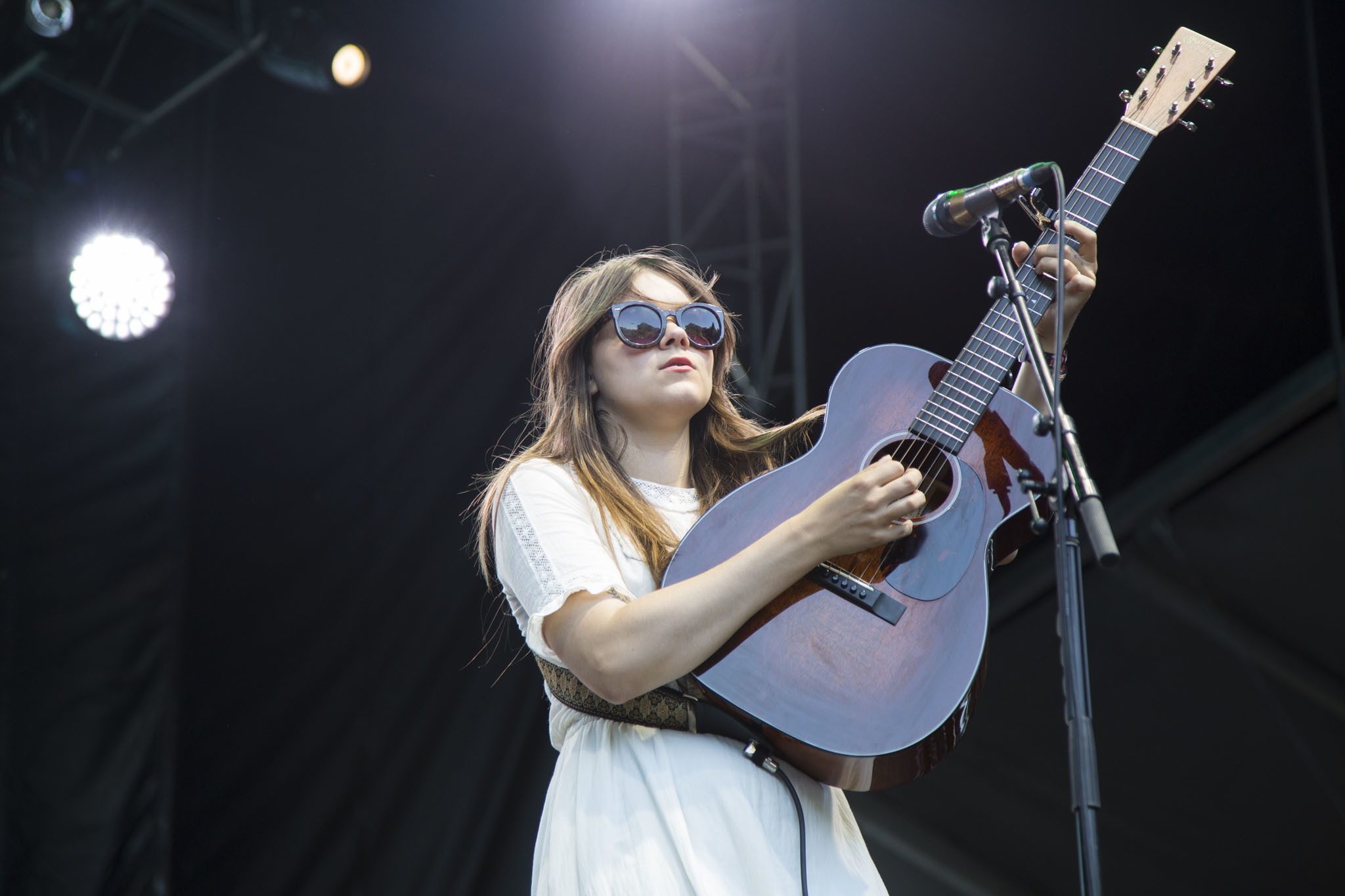 First Aid Kit played to an enthusiastic audience during the first day of Lollapalooza on July 31, 2015.