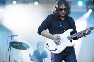 The War on Drugs played to an enthusiastic audience during the first day of Lolllapalooza on July 31, 2015.