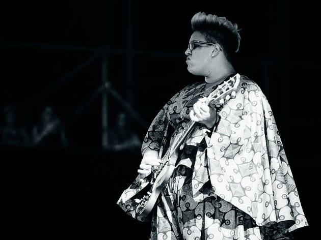 Alabama Shakes played to an enthusiastic audience during the first day of Lollapalooza on July 31, 2015.