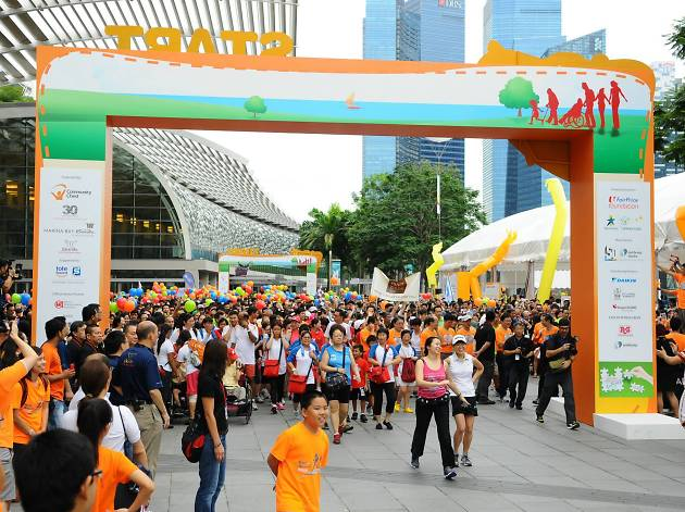 Community Chest Heartstrings Walk 2015 - SG50 Community Heartbeats