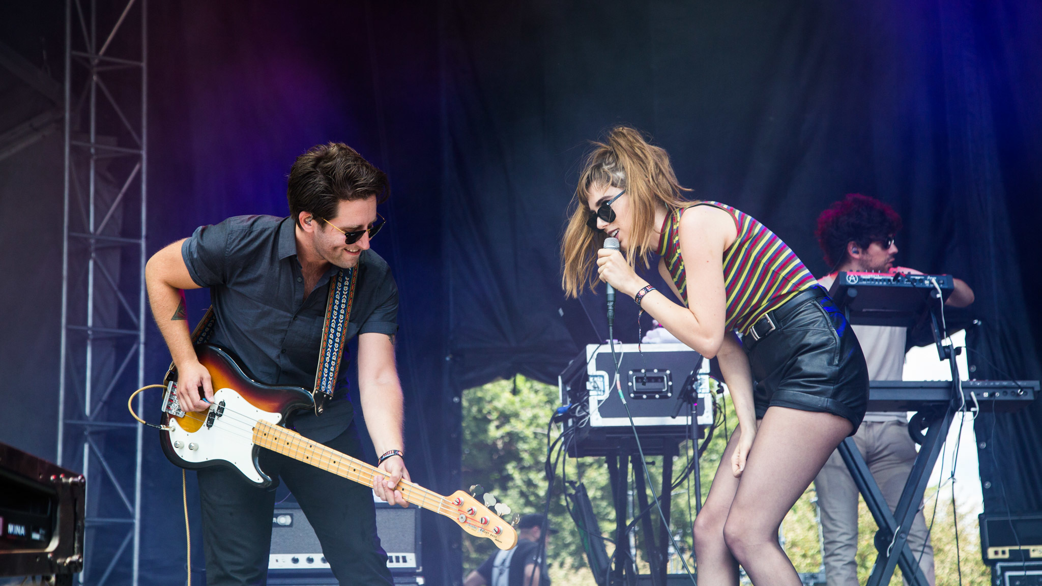 Ryn Weaver turned in a set in front of a crowd of thousands at Lollapalooza on August 1, 2015.