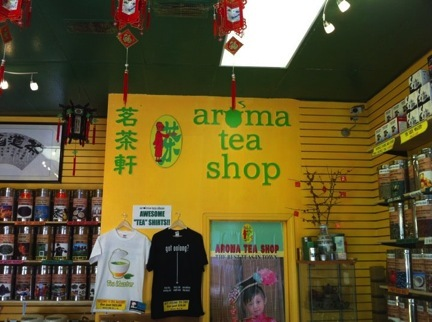 Aroma Tea Shop, a Tea House in San Francisco