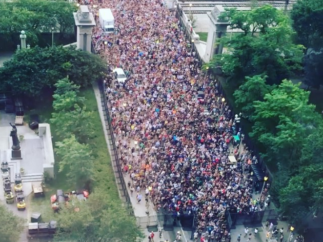 Photos from the Lollastorm evacuation