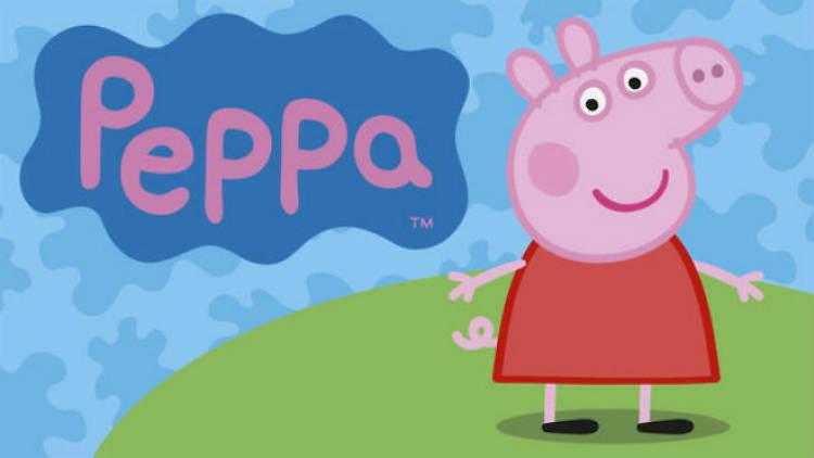 Peppa Pig en el maratón de Netflix y Verano TOM Kids