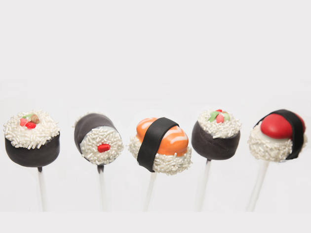 Sushi cake pops by Molly Bakes