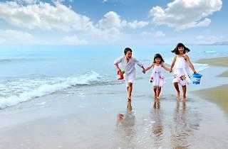 Calafell família platja