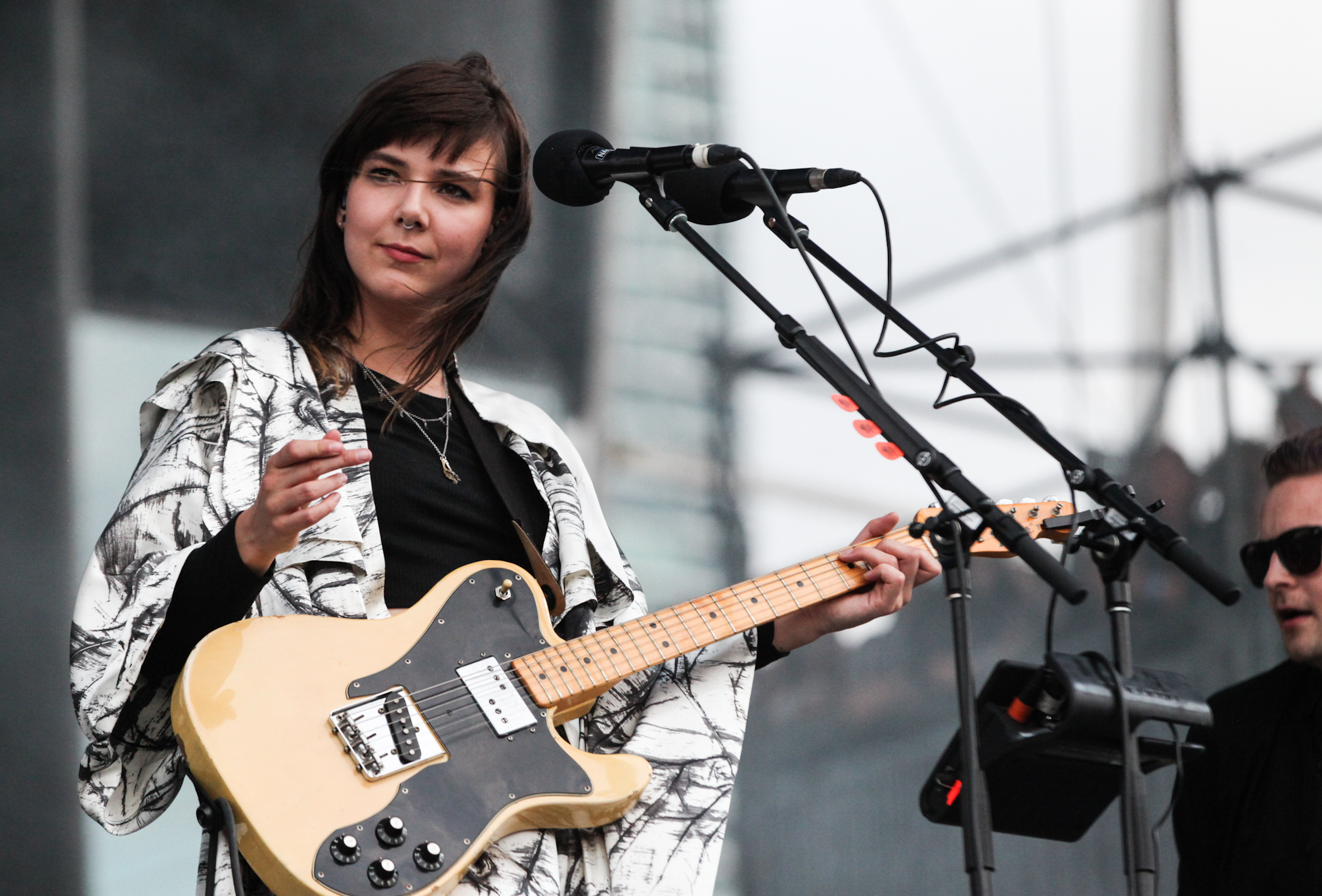 Of Monsters and Men hit the stage in Grant Park on the final day of Lollapalooza on August 2, 2015.