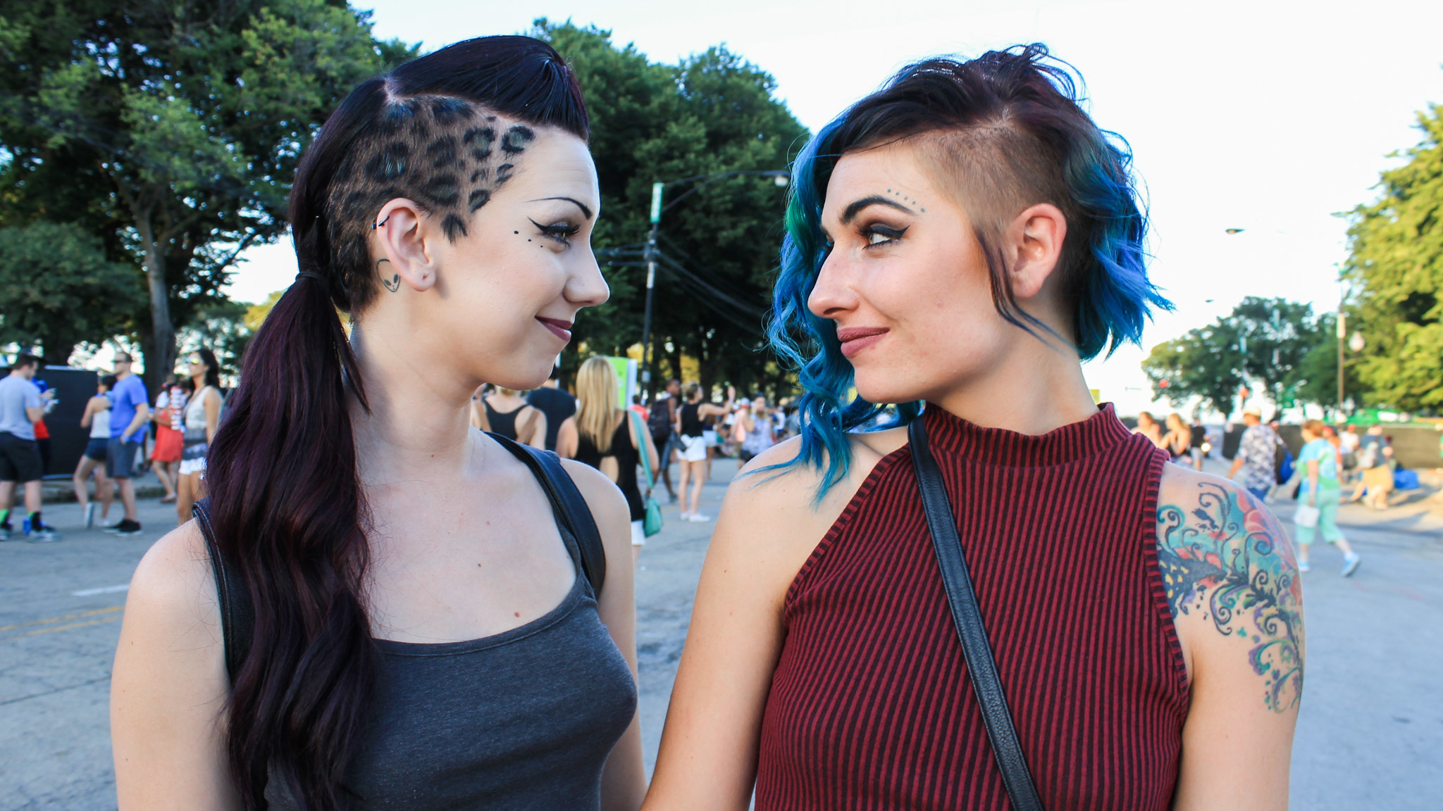 Amid all of the eye candy in Grant Park, we found plenty of notable festival fashion at Lollapalooza 2015.