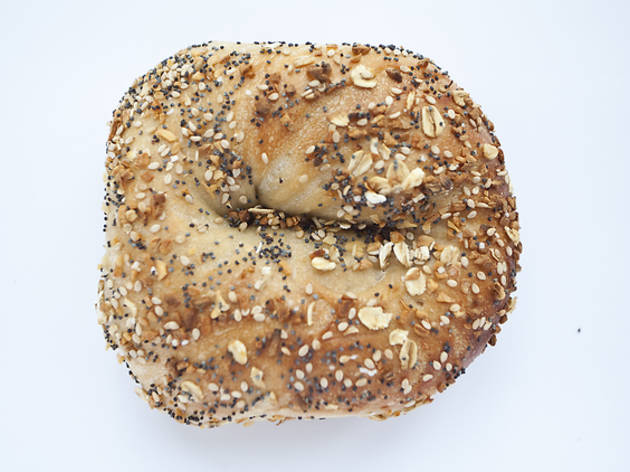 Take a bite out of a classic NYC bagel