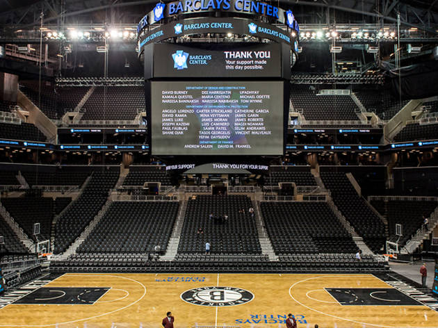 Watch a Brooklyn Nets game at Barclays Center