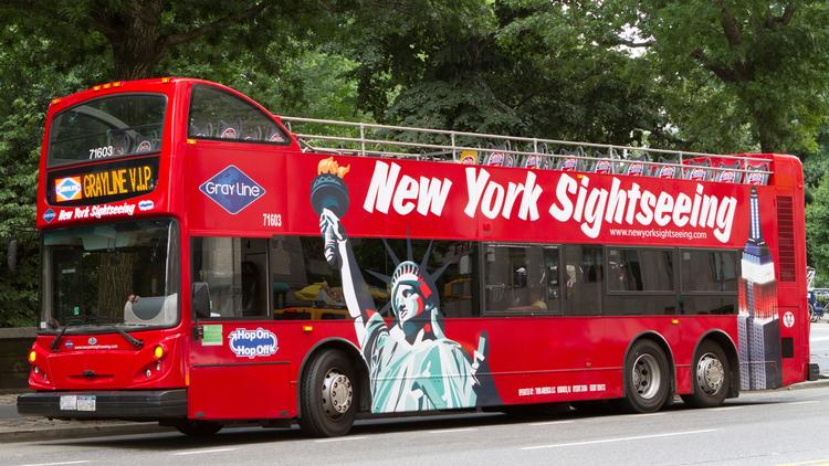 Take a bus tour around the city