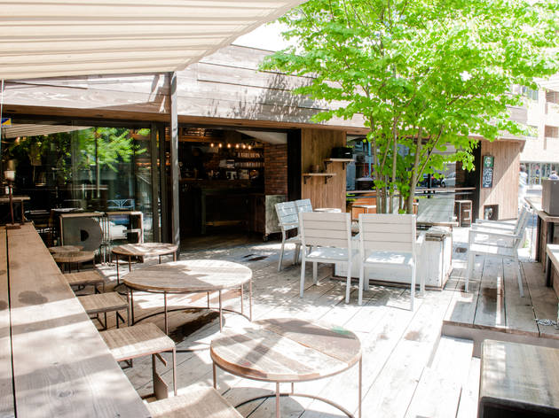 Best Outdoor Restaurants Caf 233 S And Bars In Tokyo Time