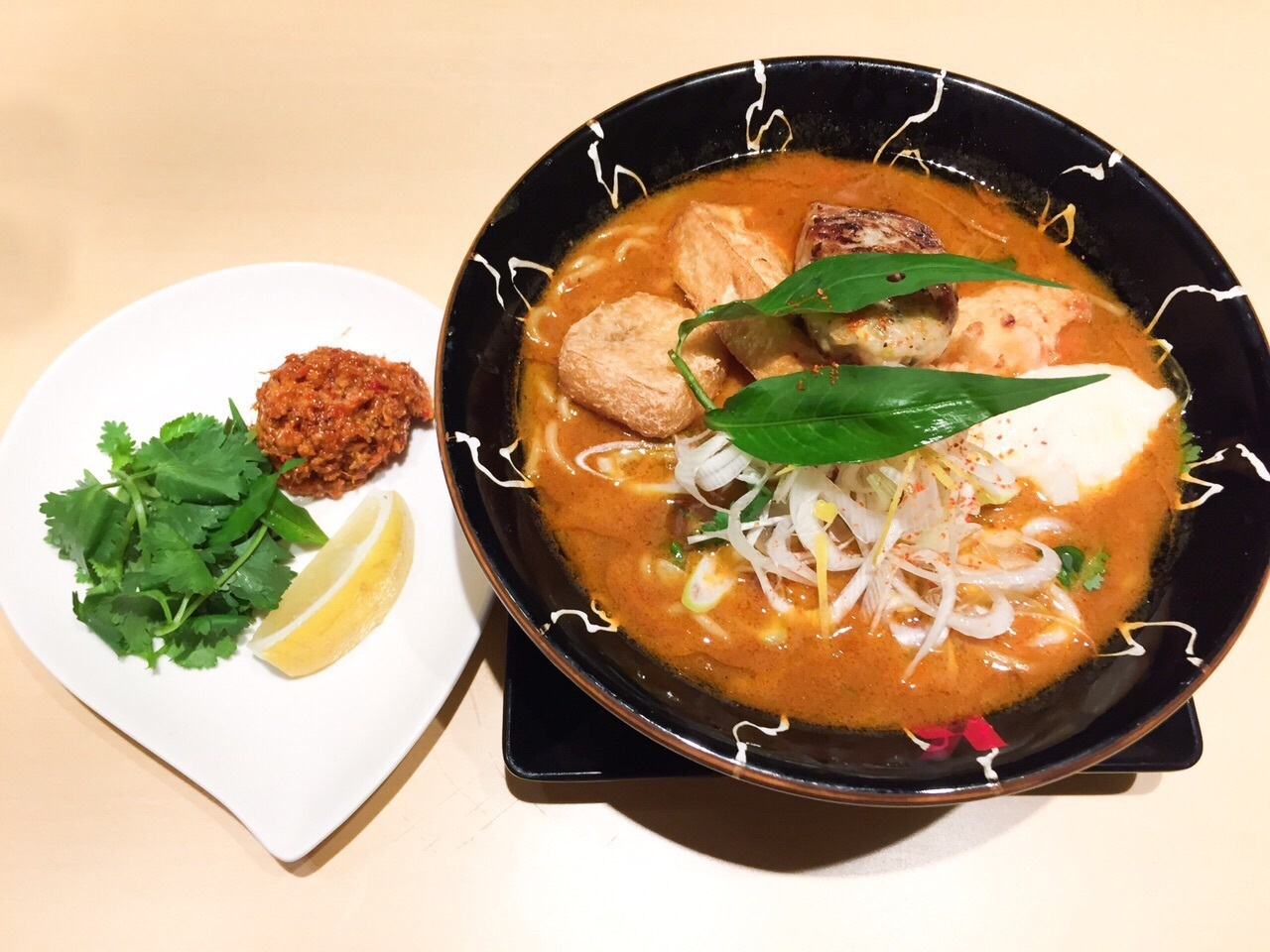 Laksa Ramen Special at Ramen Dining Keisuke Tokyo