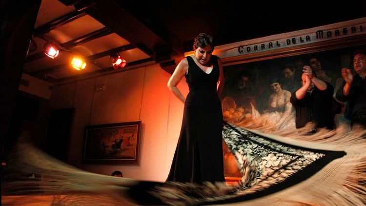 Flamenco Show at Corral de la Morería in Madrid