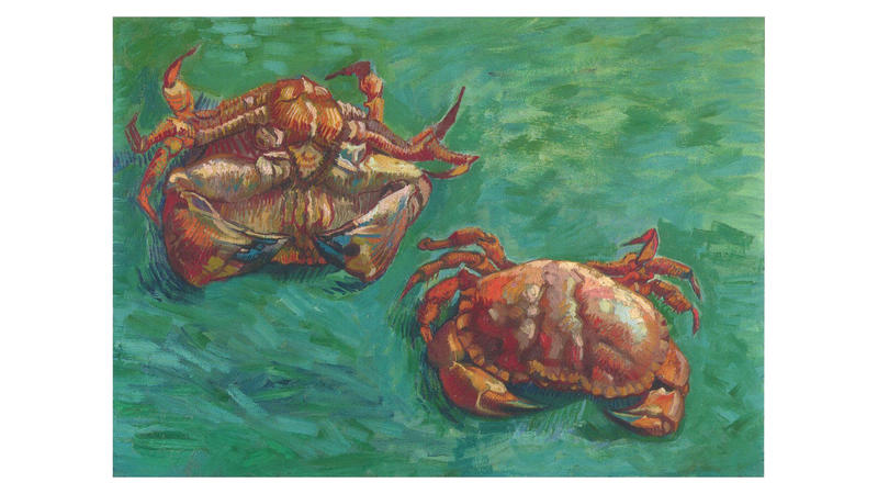 'Two Crabs', 1889, by Vincent van Gogh