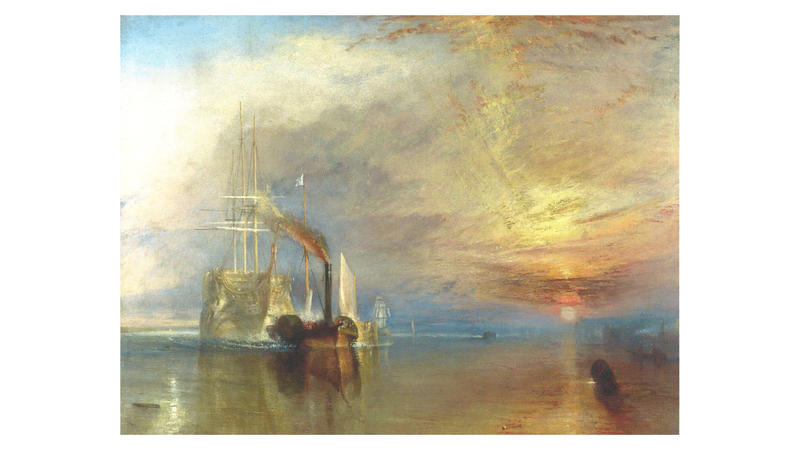 'The Fighting Temeraire', 1839, by JMW Turner