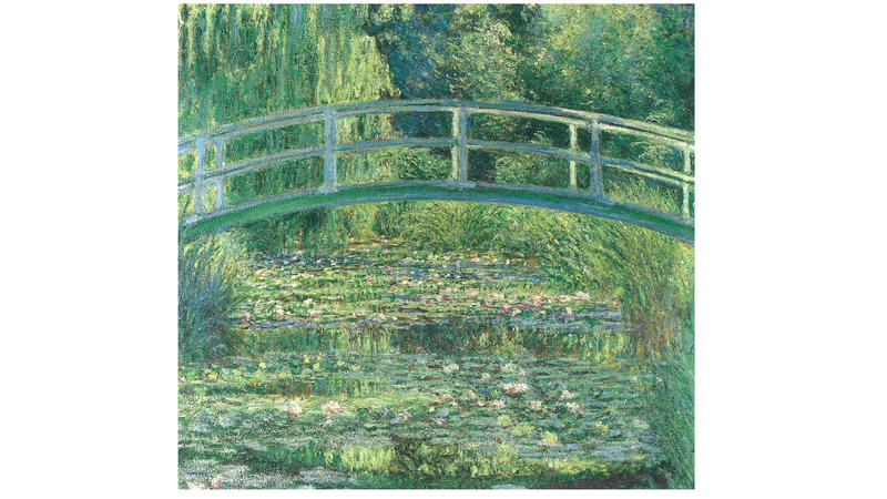 'The Water-Lily Pond', 1899, by Claude Monet