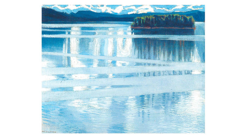 'Lake Keitele', 1905, by Akseli Gallen-Kallela
