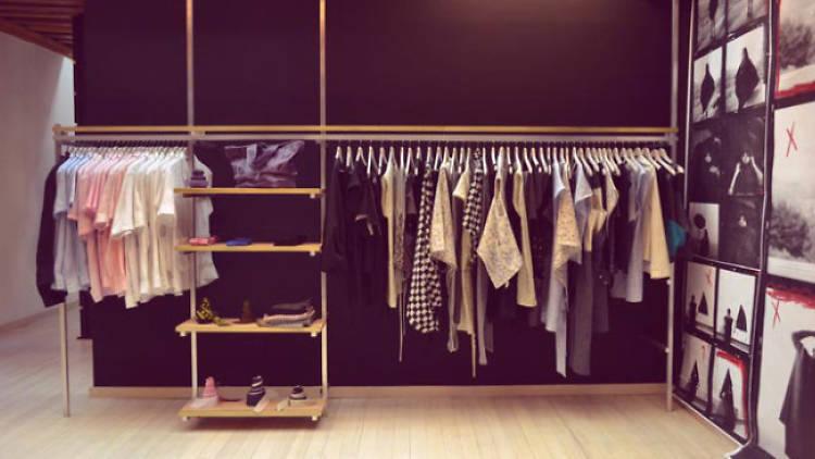 La boutique de Carla Fernández en el Centro.