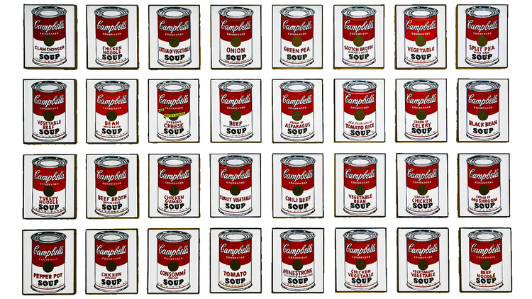 """""""Andy Warhol: Campbell's Soup Cans and Other Works, 1953–1967"""""""