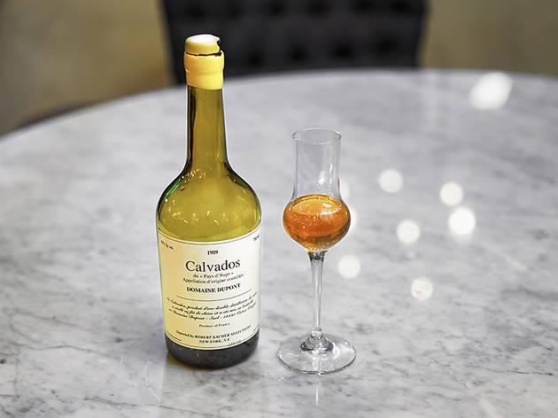 Calvados apple brandy at D'Vine Wine Cellar