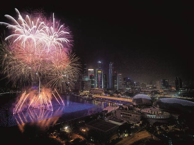 Best places to catch fireworks for free on NYE in Singapore