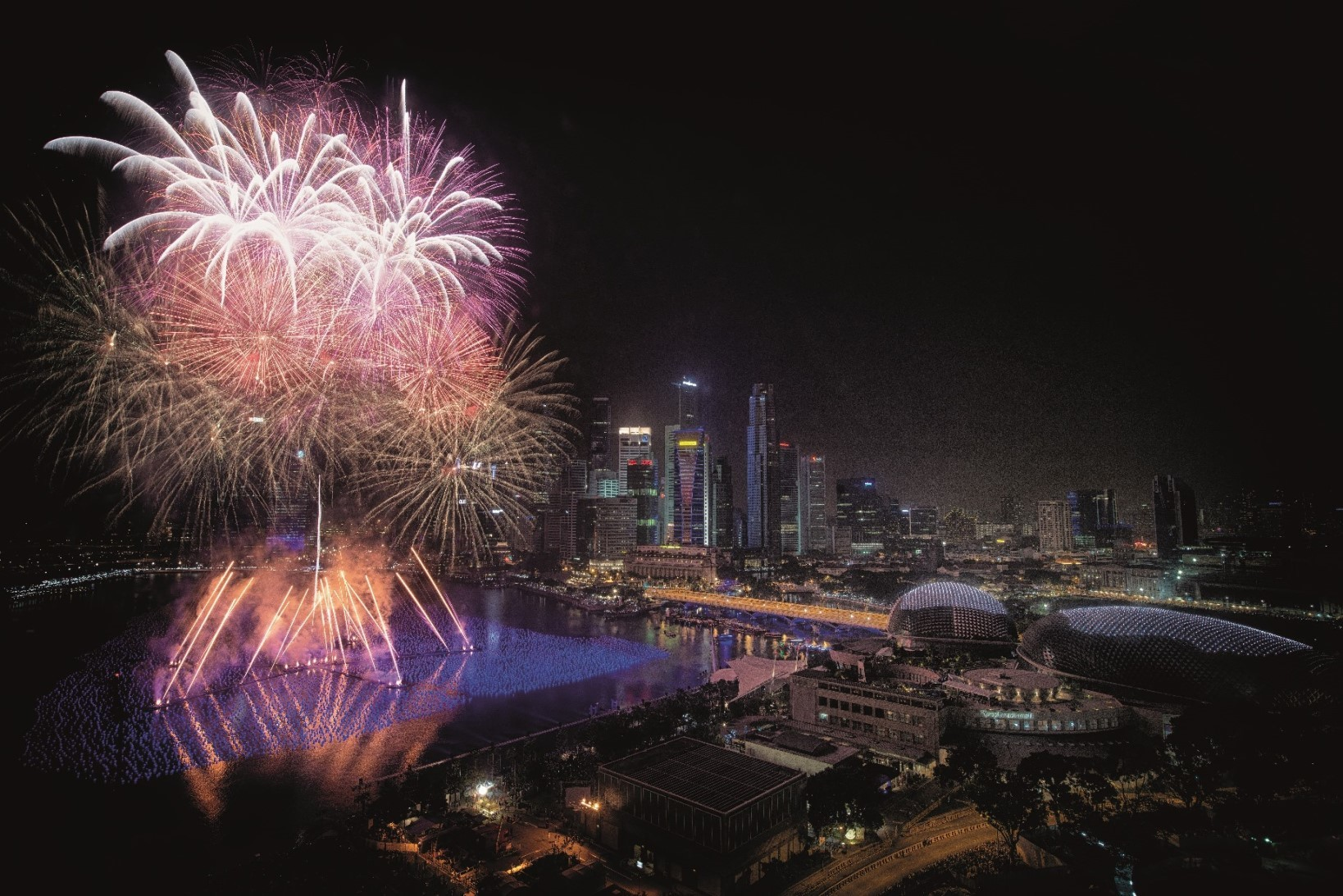 Best places to catch fireworks for free on National Day in Singapore