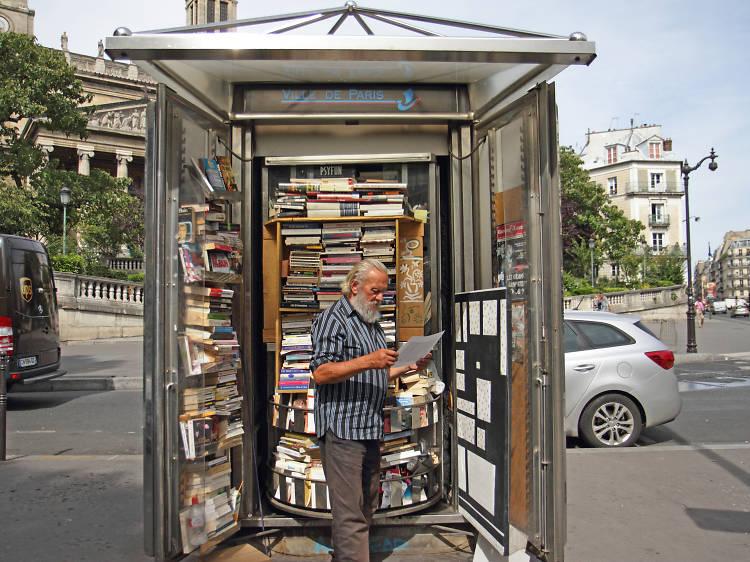 Portrait de Parisien : Bolek, libraire de rue