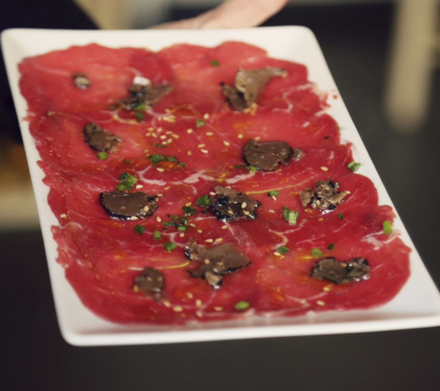 Carpaccio Cut