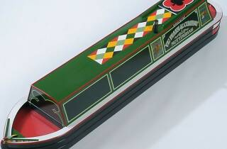 Canal Barge Coffin