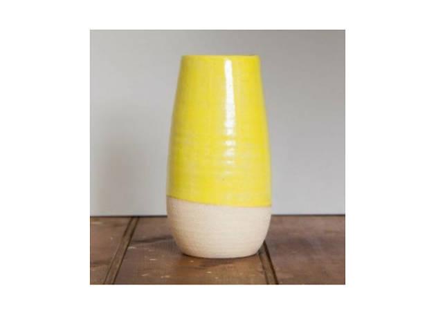Etsy Yellow Vase