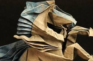 Origami, un mundo en papel plegado
