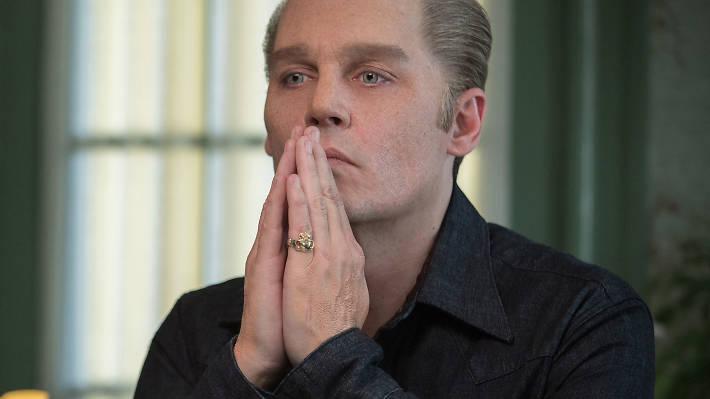 Johnny Depp in 'Black Mass'