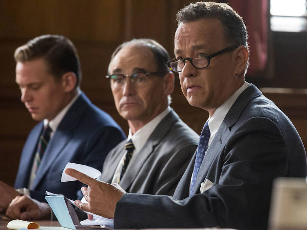Tom Hanks in 'Bridge of Spies' or 'A Hologram for the King'