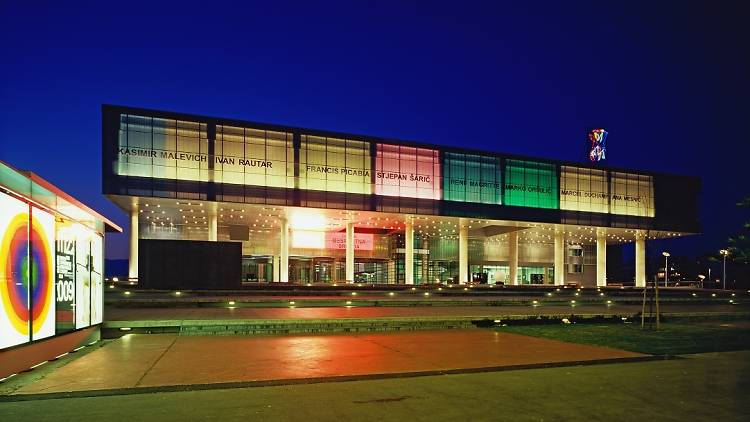 Museum of Contemporary Art, attractions, attractions and museums, novi zagreb, zagreb, croatia