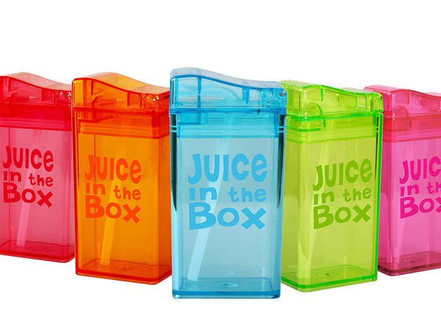 Ages 3–5: Juice in the Box