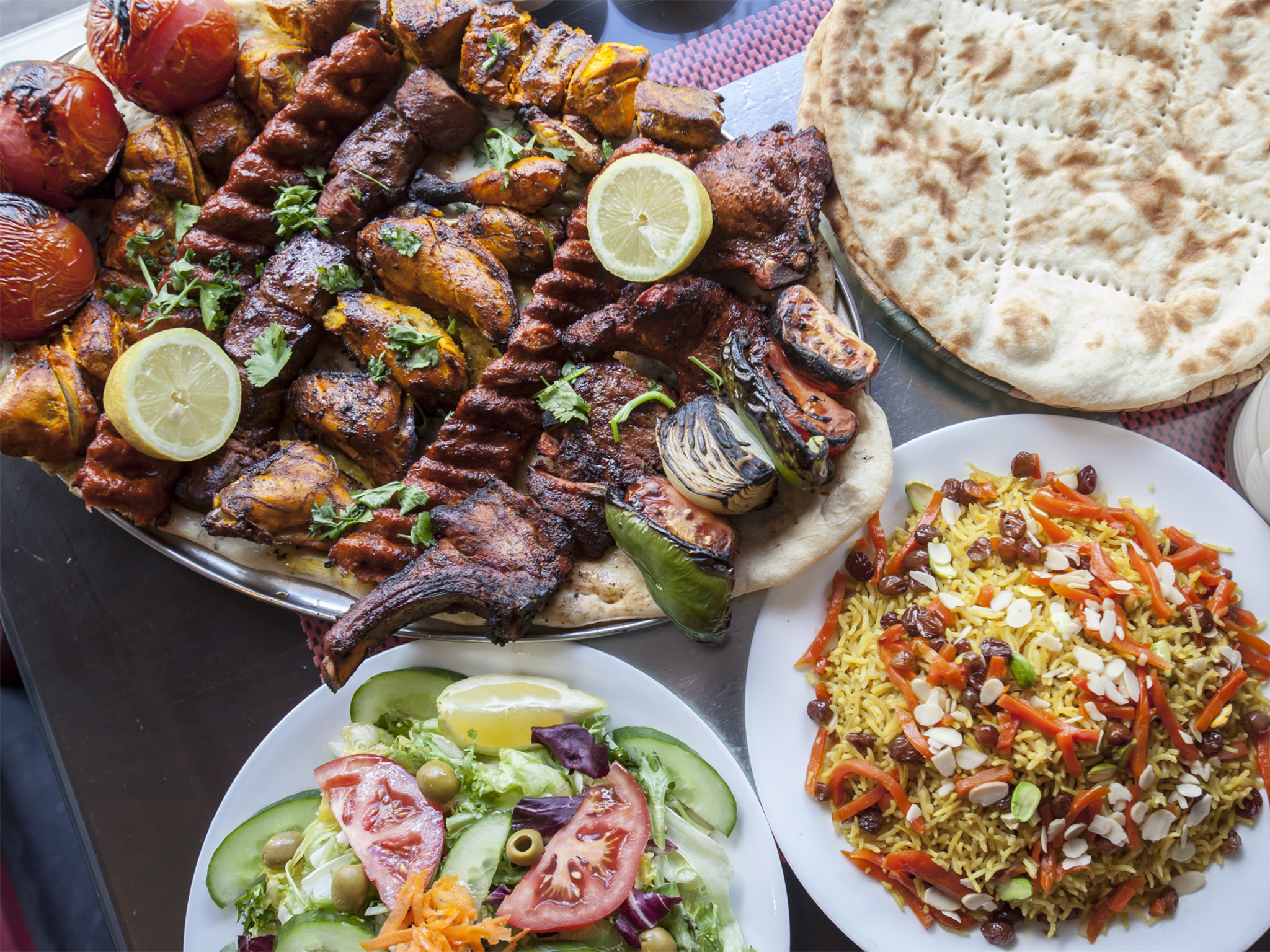 Ariana ii restaurants in kilburn london for Afghan cuisine menu
