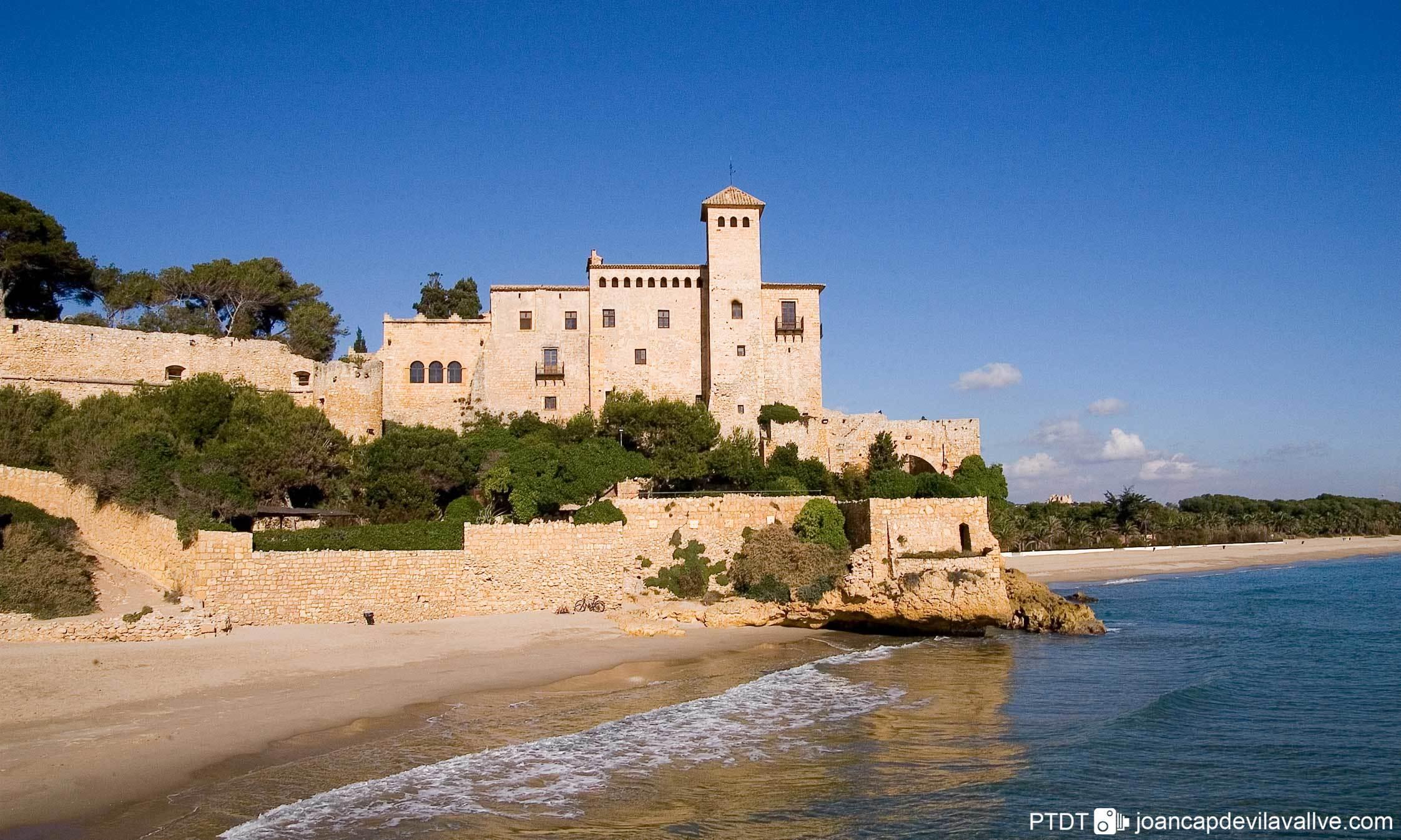 Castell de Tamarit, D'Altafulla a Tarragona