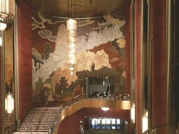 Radio City Music Hall Foyer