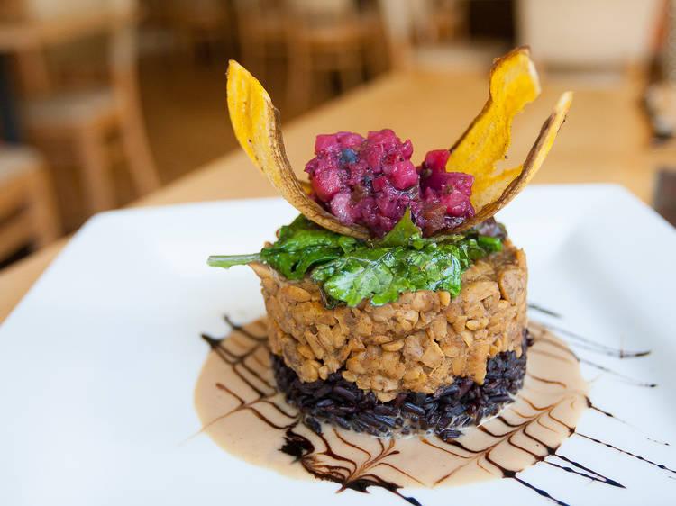 Leaf Vegetarian Restaurant; Boulder, CO
