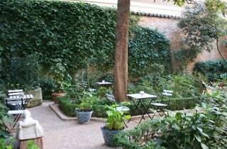 El Café del Jardín del Museo Romántico