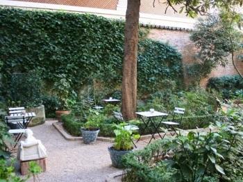 El Café del Jardín del Museo del Romanticismo