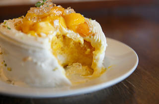 Mango Shortcake kakigori at Sebastián