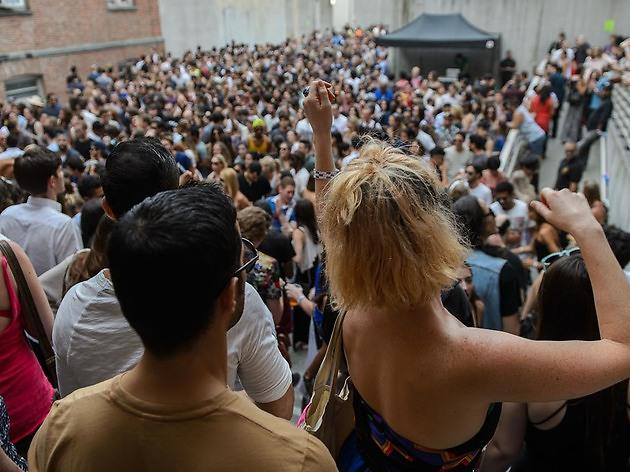 Check out photos from MoMA PS1's Warm Up this past weekend (2015)