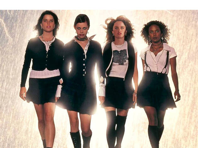 All the witches in 'The Craft'