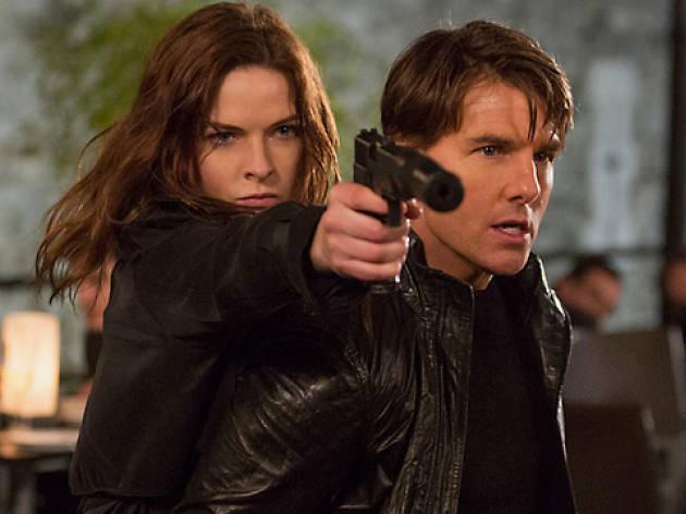 Rebeca Ferguson Tom Cruise Missió Impossible
