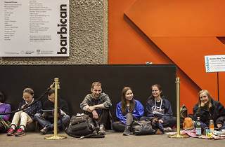 An insider's guide to queuing for day tickets to Benedict Cumberbatch's 'Hamlet' at the Barbican