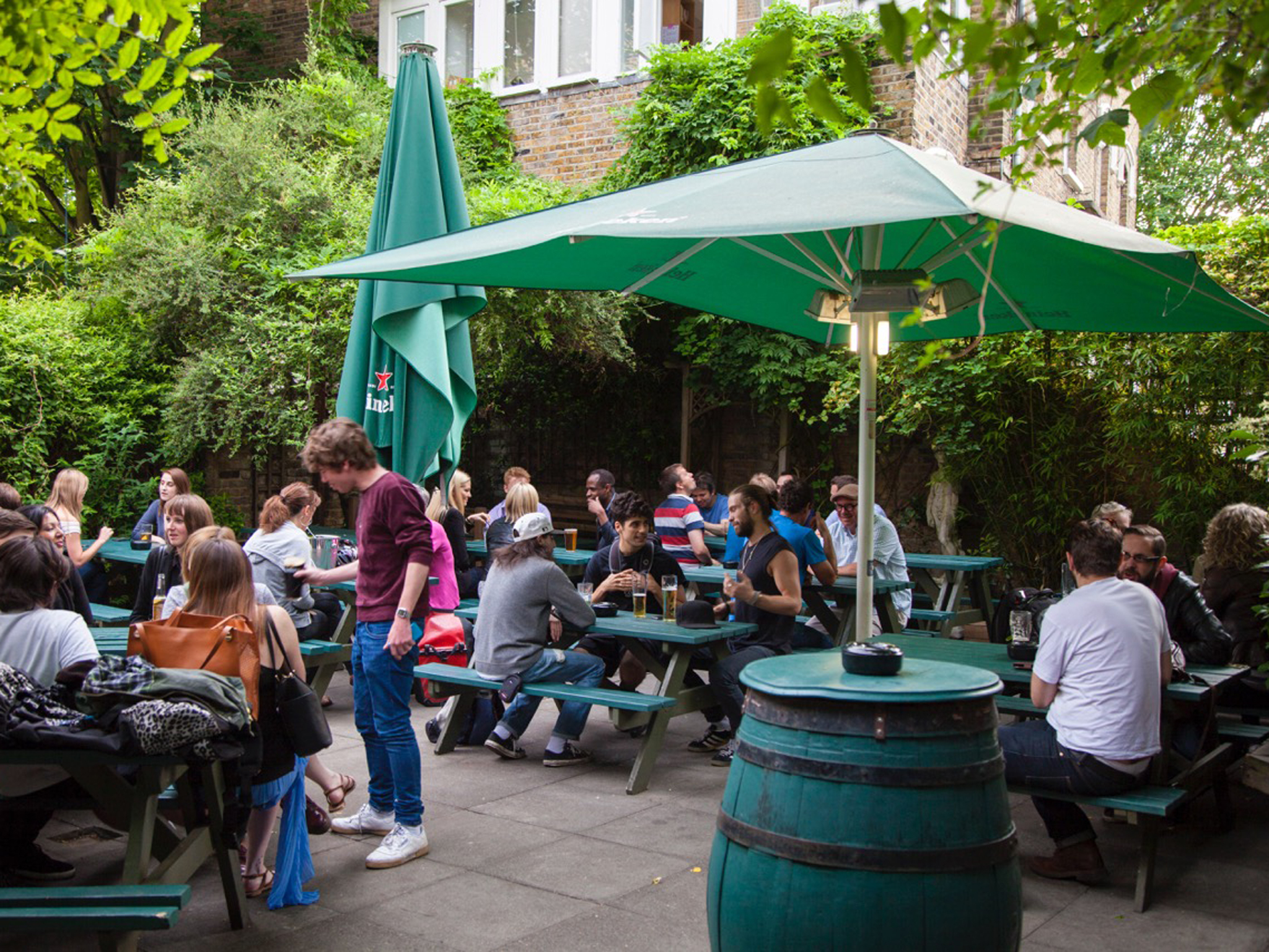 Top beer gardens in London