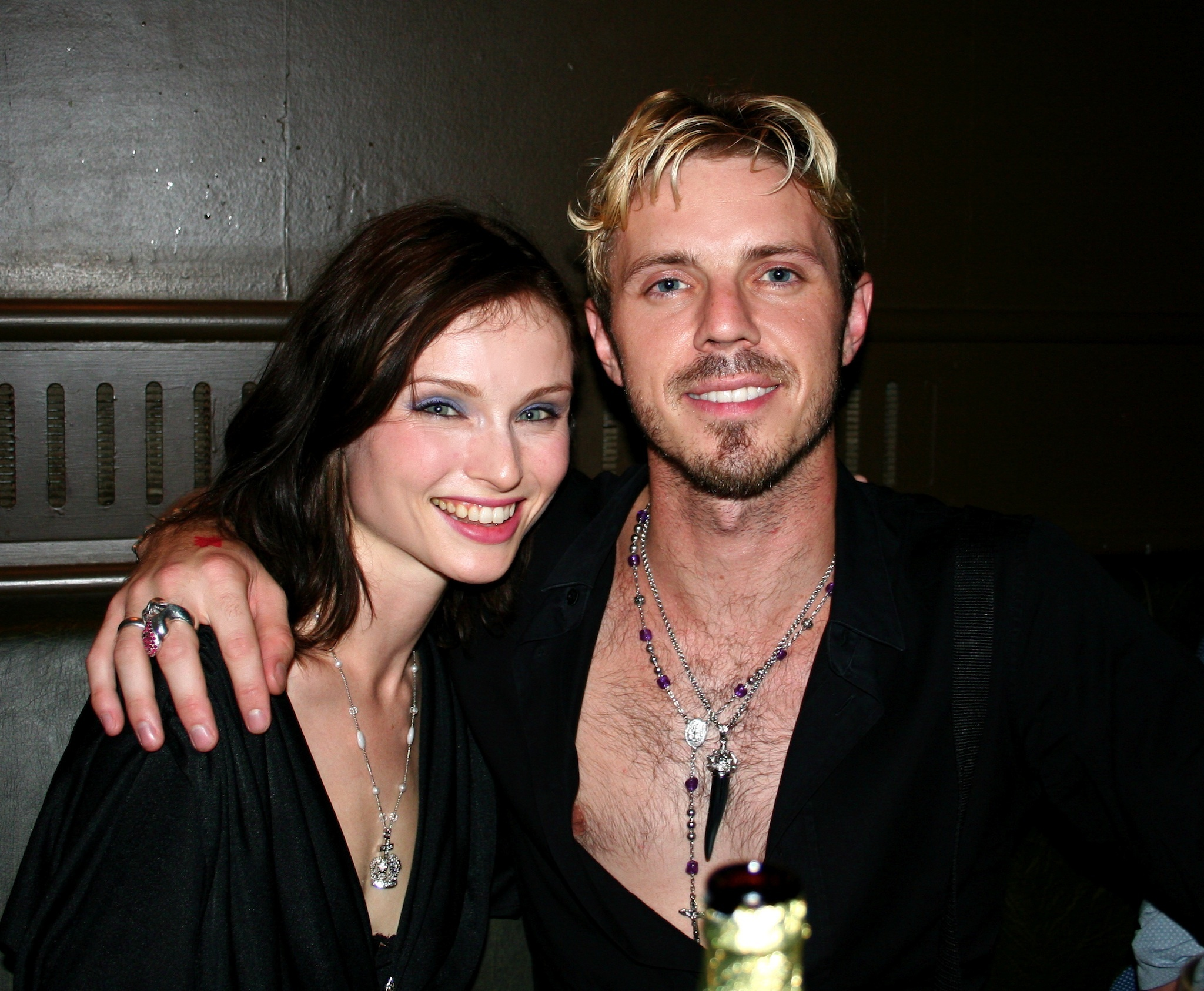 Jake Shears and Sophie Ellis-Bextor at Rebel Rebel